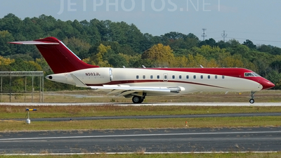 N502JL - Bombardier BD-700-1A10 Global Express - Private