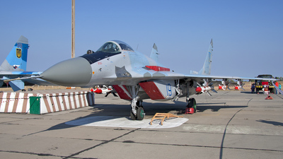 19 - Mikoyan-Gurevich MiG-29 Fulcrum - Ukraine - Air Force