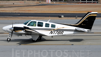 A picture of N17BR - Beech 58 Baron - [TH1372] - © Agustin Anaya