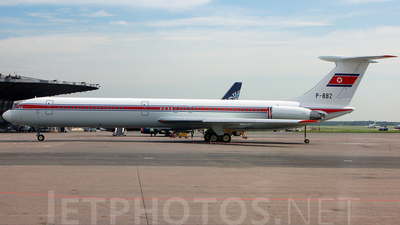 P-882 - Ilyushin Il-62M - North Korea - Government
