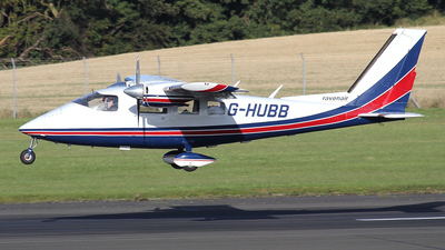G-HUBB - Partenavia P68B Victor - Ravenair - Flightradar24