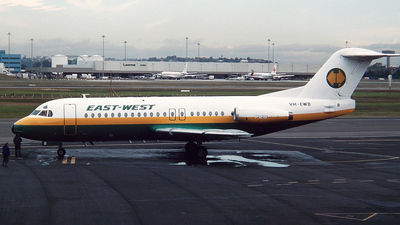 VH-EWB - Fokker F28-4000 Fellowship - East-West Airlines