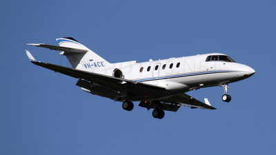 A picture of VHACE - Hawker 900XP - [HA0049] - © Brenden