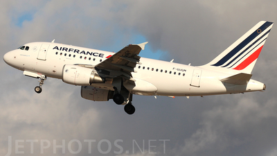 F-GUGM - Airbus A318-111 - Air France