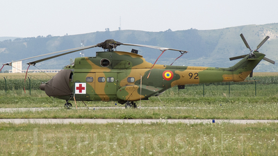 92 - IAR-330M Puma - Romania - Air Force