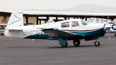 A picture of N9675M - Mooney M20C - [670011] - © Jeremy D. Dando