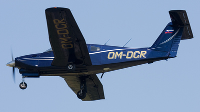 OM-DCR - Piper PA-28RT-201T Turbo Arrow IV - Aero Club - Dubnica nad Vahom