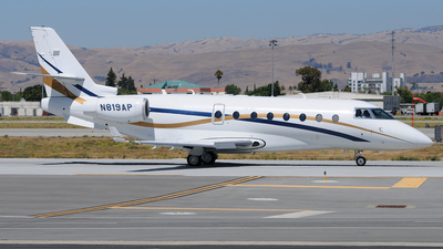 A picture of N819AP - Gulfstream G200 Galaxy - [191] - © FOKKER AIRCRAFT