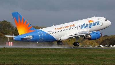 HB-JZK - Airbus A319-111 - Allegiant Air