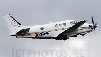 A picture of N291MM - Beech E90 King Air - [LW32] - © Agustin Anaya