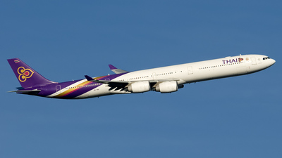 HS-TNF - Airbus A340-642 - Thai Airways International