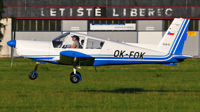 OK-FOK - Zlin 43 - Aero Club - Czech Republic
