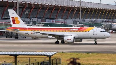 EC-HTA - Airbus A320-214 - Iberia