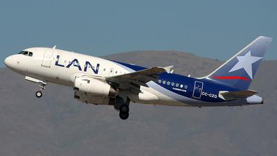 CC-CZQ - Airbus A318-121 - LAN Airlines
