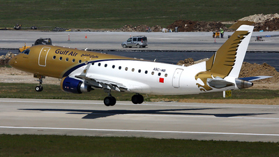 A9C-MB - Embraer 170-100LR - Gulf Air