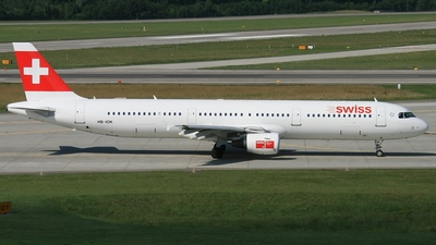 HB-IOK - Airbus A321-111 - Swiss