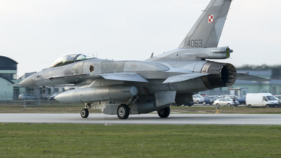 4063 - Lockheed Martin F-16C Fighting Falcon - Poland - Air Force