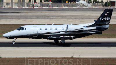YU-BZM - Cessna 560XL Citation XLS Plus - Air Pink