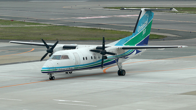 JA801B - Bombardier Dash 8-201 - Oriental Air Bridge