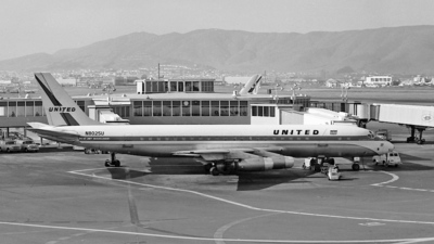 N8025U - Douglas DC-8-21 - United Airlines