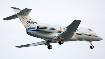 N860TM - Raytheon Hawker 800XP - Private