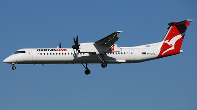 VH-QOJ - Bombardier Dash 8-Q402 - QantasLink (Sunstate Airlines)