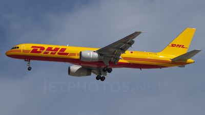 A9C-DHE - Boeing 757-225(SF) - DHL International Aviation