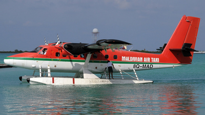 8Q-MAD - De Havilland Canada DHC-6-300 Twin Otter - Maldivian Air Taxi
