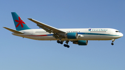G-PJLO - Boeing 767-35E(ER) - First Choice Airways