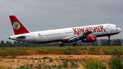 VT-KFZ - Airbus A321-232 - Kingfisher Airlines