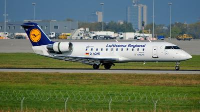 D-ACHE - Bombardier CRJ-200LR - Lufthansa Regional (CityLine)