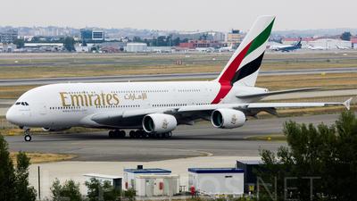 F-WWAZ - Airbus A380-861 - Emirates