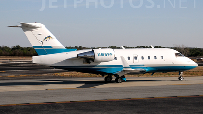 N65FF - Bombardier CL-600-2B16 Challenger 601-3R - Private