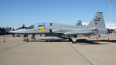 244 - Northrop F-5B Freedom Fighter - Norway - Air Force