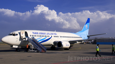 YA-PIC - Boeing 737-4Y0 - Pamir Airways
