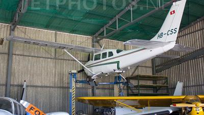 HB-CSS - Cessna 210F Centurion - Lucky Air