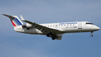 F-GRJF - Bombardier CRJ-100ER - Air France (Brit Air)