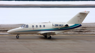 OM-HLY - Cessna 525 CitationJet 1 - Vip Air