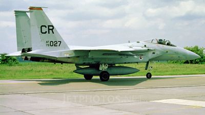 79-0027 - McDonnell Douglas F-15C Eagle - United States - US Air Force (USAF)
