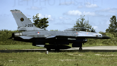 J-259 - General Dynamics F-16B Fighting Falcon - Netherlands - Royal Air Force
