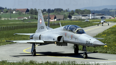 J-3204 - Northrop F-5F Tiger II - Switzerland - Air Force