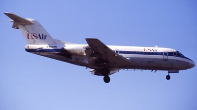 N462AU - Fokker F28-1000 Fellowship - USAir