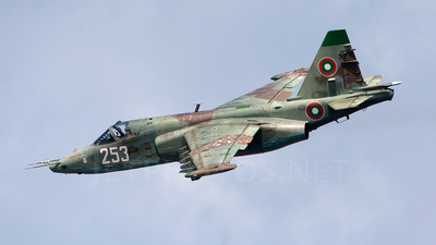 253 - Sukhoi Su-25K Frogfoot - Bulgaria - Air Force