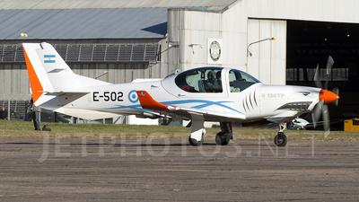 A picture of E502 - Grob G120TP -  - © Jose Luis Ghezzi