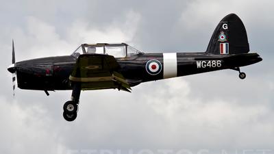 WG486 - De Havilland Canada DHC-1 Chipmunk - United Kingdom - Royal Air Force (RAF)
