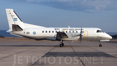 A picture of T33 - Saab 340B -  - © Jose Luis Ghezzi