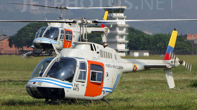 FAC4473 - Bell 206B JetRanger III - Colombia - Air Force