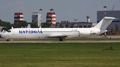 4L-GNL - McDonnell Douglas DC-9-51 - Georgian National Airlines