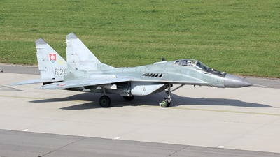 6124 - Mikoyan-Gurevich MiG-29AS Fulcrum - Slovakia - Air Force