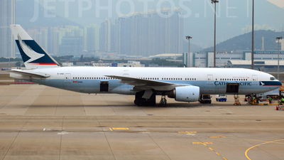 B-HNB - Boeing 777-267 - Cathay Pacific Airways
